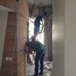 Проведение демонтажа стен (6)
