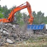 вывоз строительного мусора разлом строй