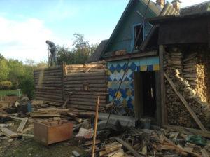 Демонтаж дачных домов в СПб (15)