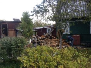 Демонтаж дачных домов в СПб (16)