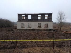 Демонтаж дачных домов в СПб (2)