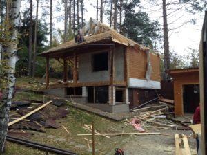Демонтаж дачных домов в СПб (3)