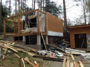 Демонтаж дачных домов в СПб (5)