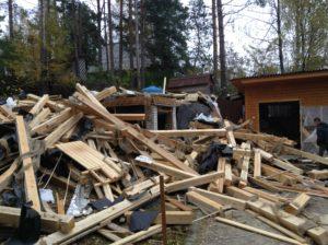 Демонтаж дачных домов в СПб (7)