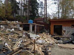 Демонтаж дачных домов в СПб (9)