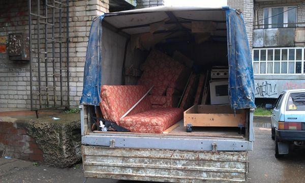 Вывоз мусора Газелью 1