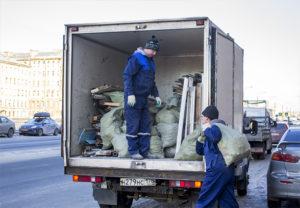 Вывоз мусора Газелью (1)