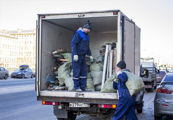 Вывоз мусора Газелью 2