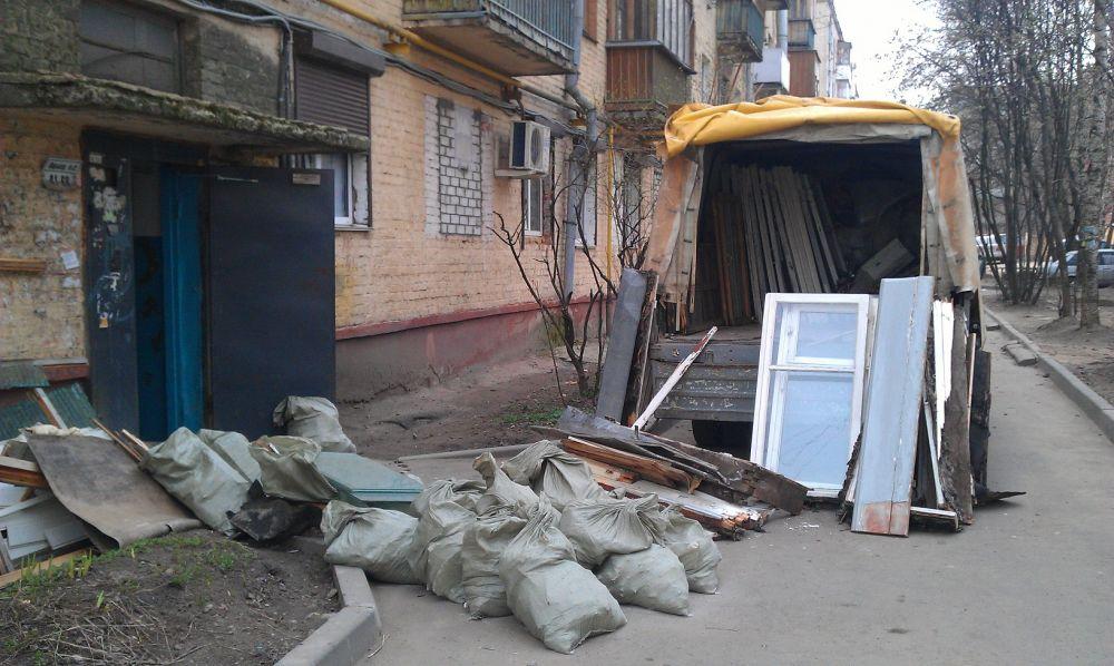 Вывоз мусора Газелью 3