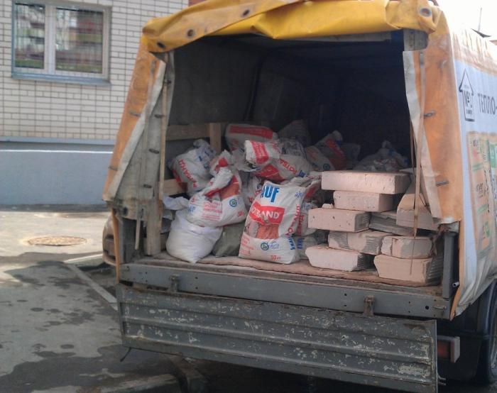 Вывоз мусора Газелью 4