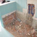 Демонтаж чугунной ванны 2
