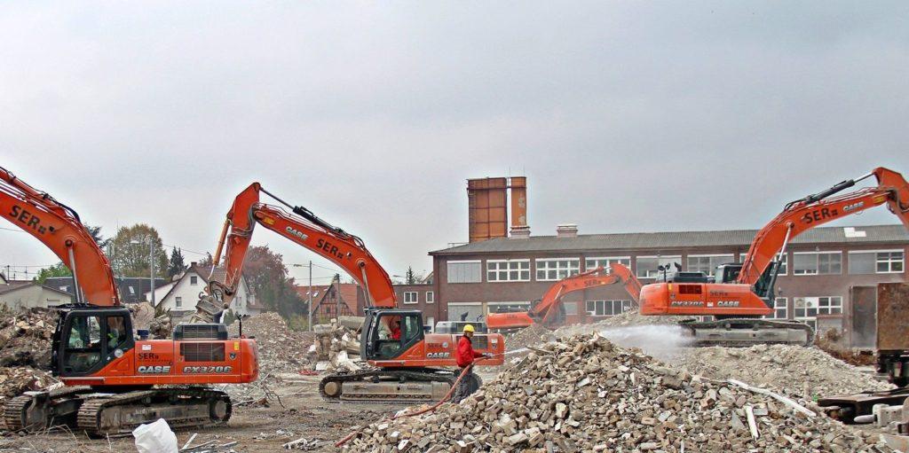 Демонтаж здания в СПб