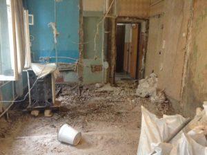 Демонтаж стен 2