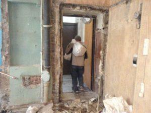 Демонтаж стен 3