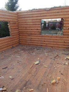 демонтаж деревянных домов 7