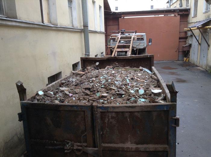 Вывоз строительного мусора 2