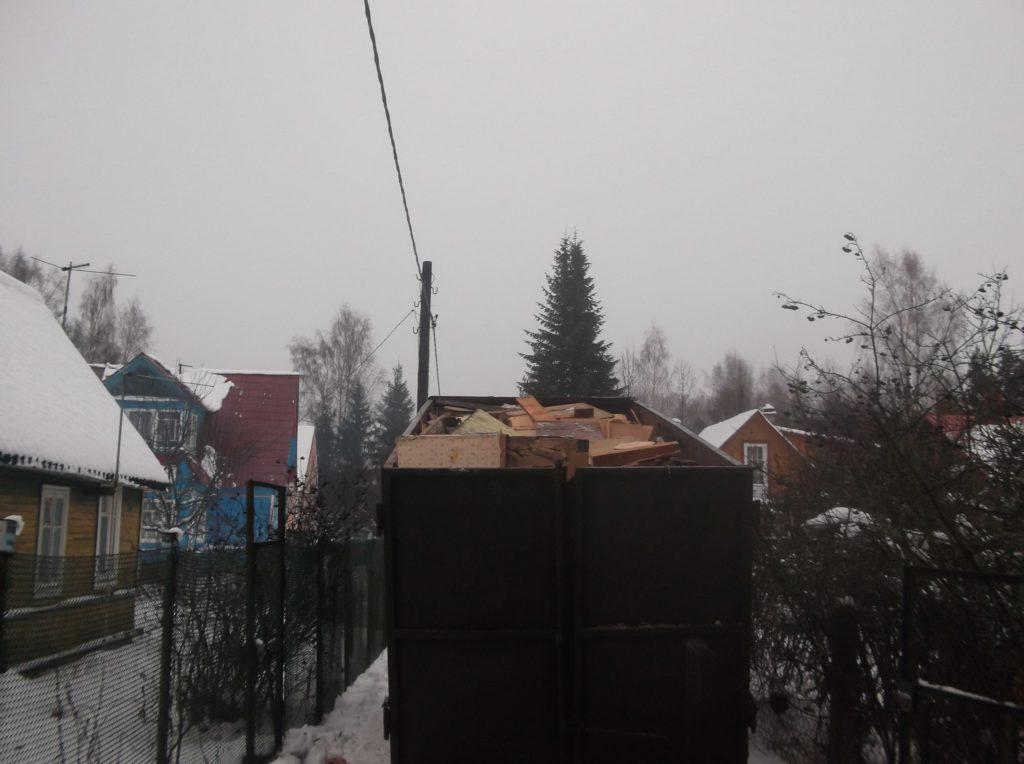 Вывоз строительного мусора 3