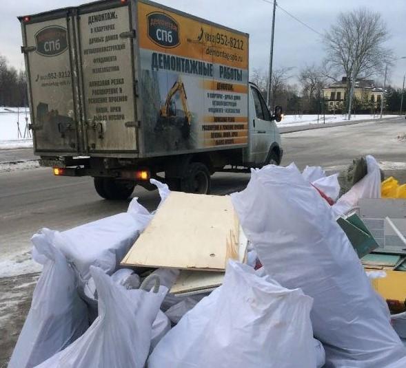 Вывоз строительного мусора 4